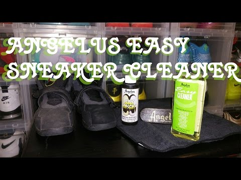 HOW TO CLEAN SNEAKERS TUTORIAL | ANGELUS EASY CLEANER
