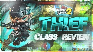 MapleStory 2 - Thief Class Review