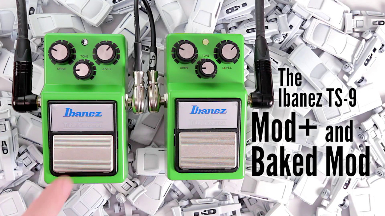 Tube Screamers - Mammoth MOD + and Baked Mod