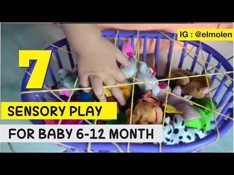 Cara Belajar Anak Usia 8 Bulan Baru
