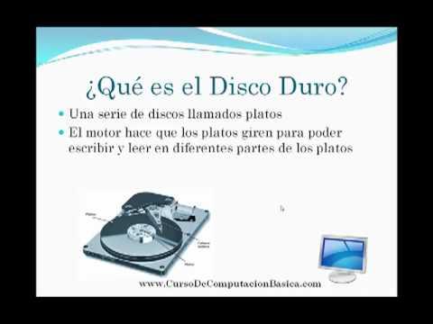 Para Que Sirve el Disco Duro - YouTube