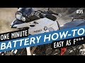 BMW f700GS battery
