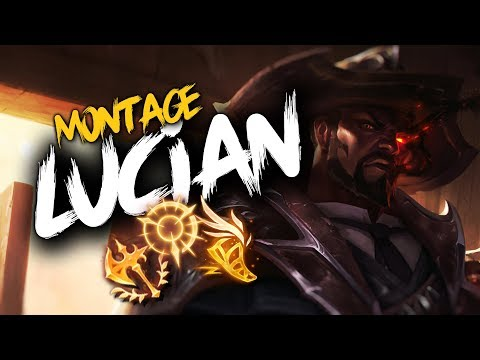 THIS IS: LUCIAN MONTAGE | League of Legends thumbnail