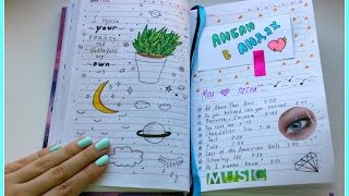 видео личный дневник оформление