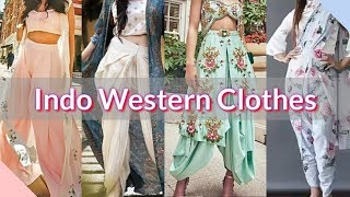 Latest Indo Western Outfit for Girls @2020 | Party wear indowestern dresses | Blush Up