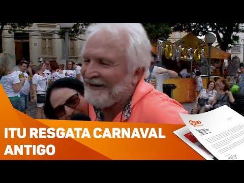 Itu resgata carnaval antigo - TV SOROCABA/SBT