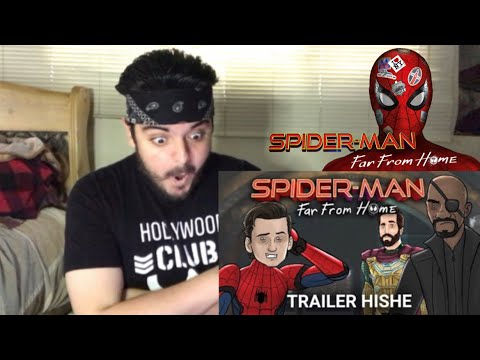 Spider-Man Far From Home Trailer HISHE (ENDGAME SPOILERS) REACTION