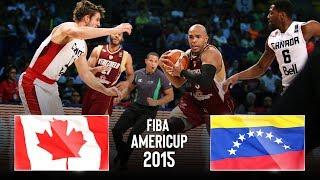 🔴 - Canada 🇨🇦 v Venezuela 🇻🇪 - Classic Full Games | FIBA AmeriCup 2015