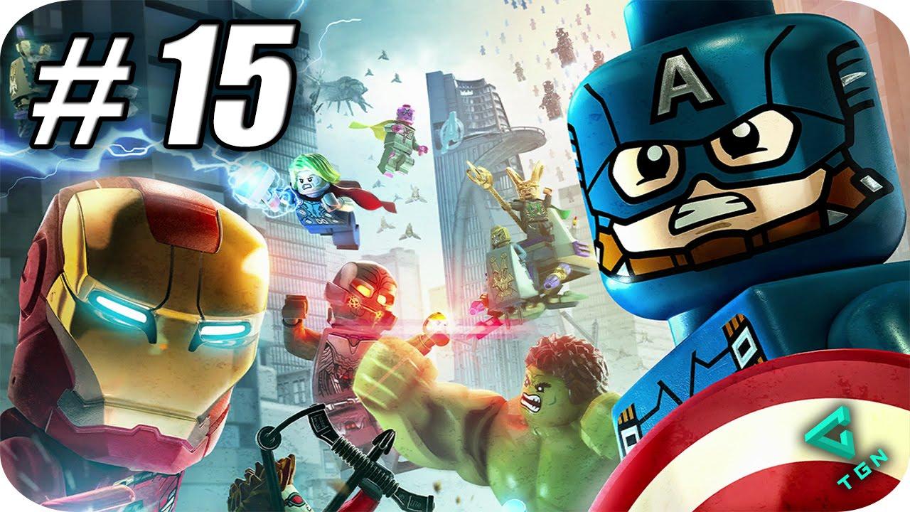 LEGO Marvel Vengadores - Gameplay Español - Capitulo 15 - 1080pHD ...