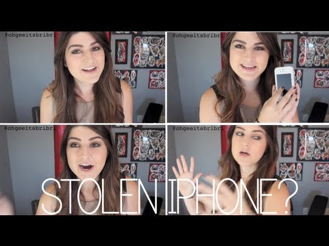 how to get a stolen iphone back. ☠ (tips + my story!)