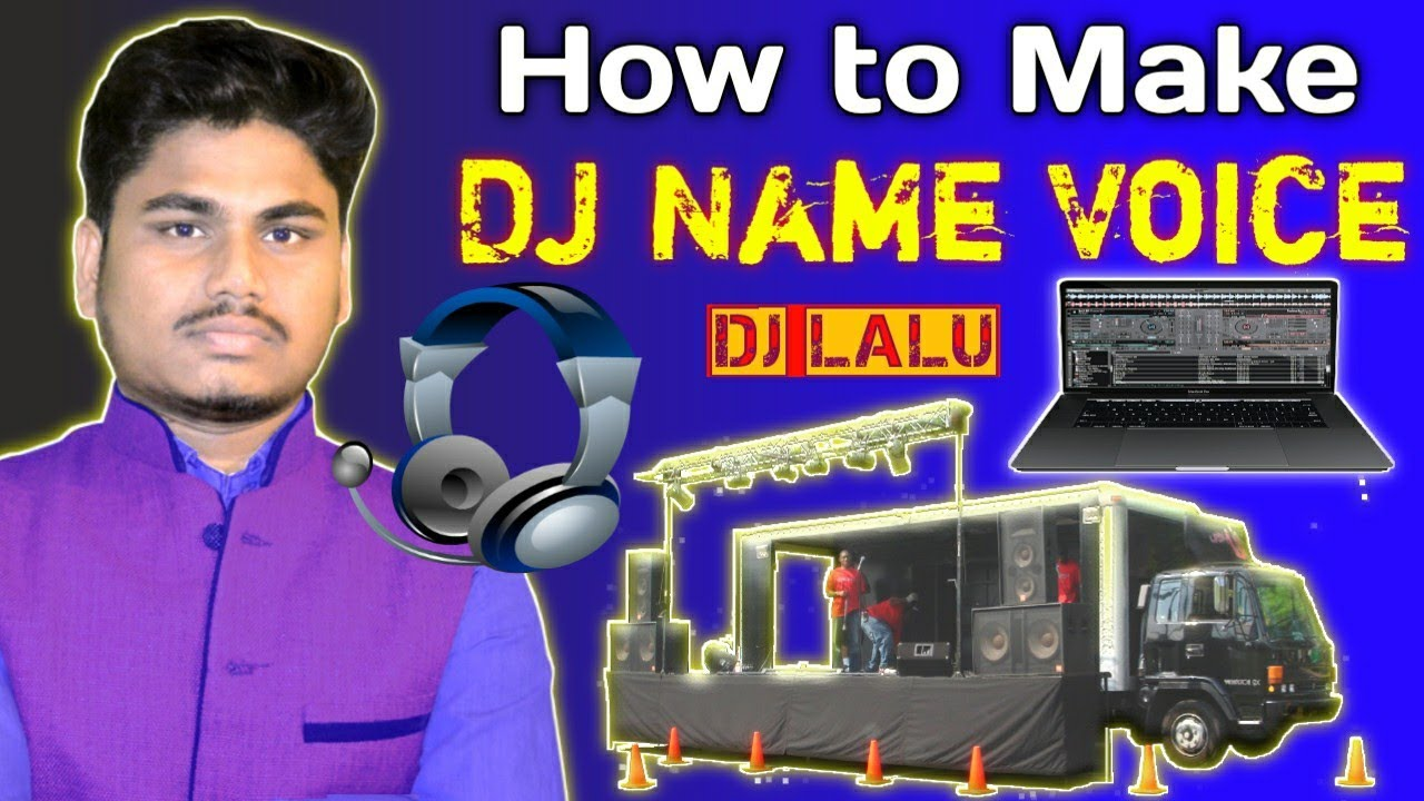 Download How To Make 🎧 DJ Name  Voice Online 🎶 On 📱 Mobile / 💻 Computer ||