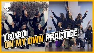 On My Own(ft. Nefera) - Troyboi   A.DOUBLE   Vana Kim Choreography   Practice   거울모드