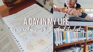 a day in my life as an indonesian high school student 🍋✨