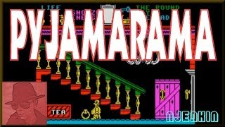 Pyjamarama - on the ZX Spectrum 48K !  with Commentary