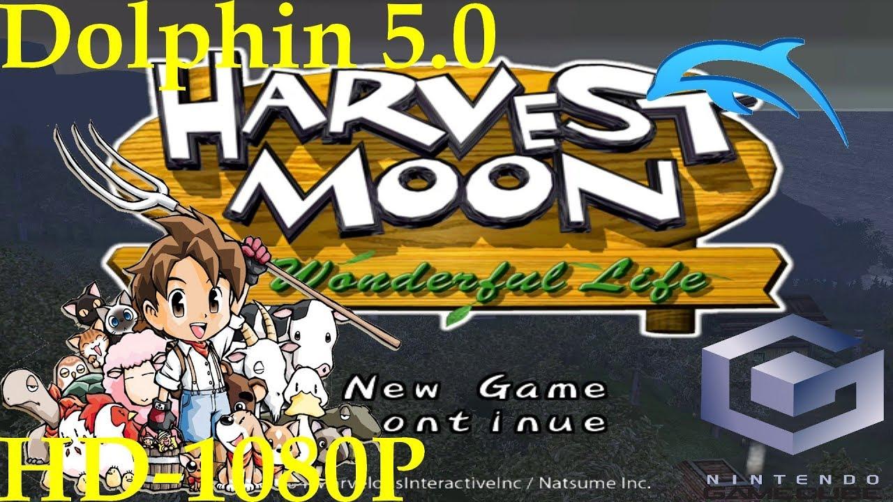 Harvest Moon A Wonderful Life Gamecube Dolphin 5 0 1080p Hd