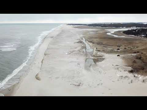 Survey of Nauset Beach Off Road Trail by Drone