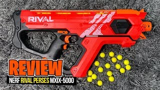 [REVIEW] Nerf Rival Perses MXIX-5000, Unboxing, Firing Test, Chrono &amp Giveaway!