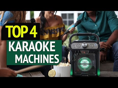 TOP 4: Best Karaoke Machines 2019