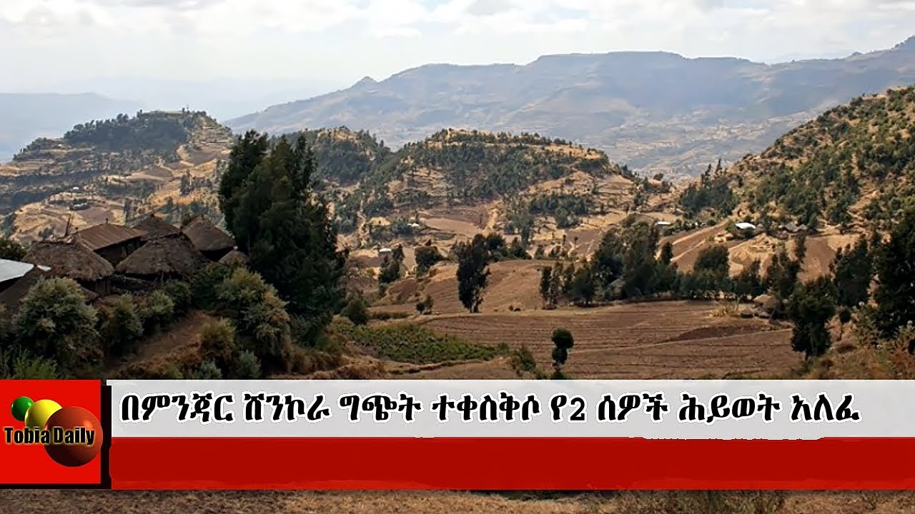 The Conflict That Killed Two People In Northern Shewa