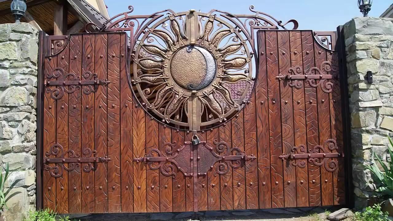 Forged Gates Home Design Ideas