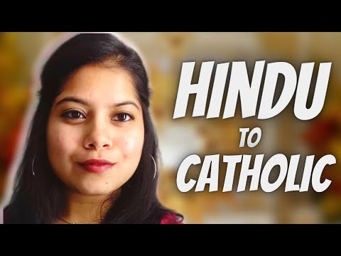 INDIAN Girl ( from a HINDU Background)  becomes a CATHOLIC ( SHIVANI )