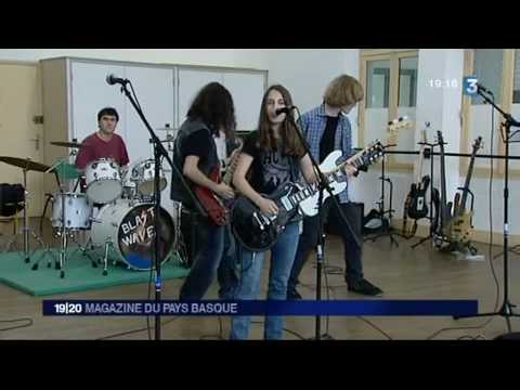 France 3 Aquitaine - Anglet Rock School (Cosmic Bonobos / 64 Flow / Blastwave)