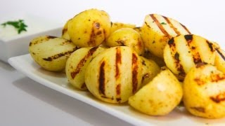 Lemon And Thyme Grilled Potatoes - Video Recipe
