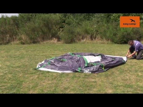 Easy C& Tornado 400 Tent Pitching Video | Just Add People & Easy Camp Tornado 400 Tent Pitching Video | Just Add People - YouTube