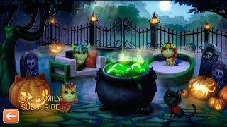 Halloween Meow Match Special Edition 7 Level Event PRIZES AWARDED