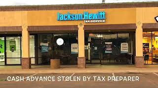 A Mother Of 3 Explains How A Jackson Hewitt Tax Preparer Stole Her Cash Advance