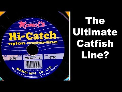 CATFISH FISHING LINE - Testing Momoi Monofilament