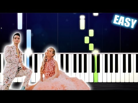 Taylor Swift - ME! (feat. Brendon Urie of Panic! At The Disco) - EASY Piano Tutorial by PlutaX thumbnail