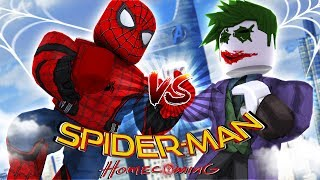 ROBLOX Adventure - SPIDER-MAN HOMECOMING in SUPERHERO TYCOON!!