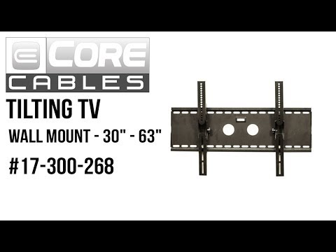 "Manhattan Universal Flat-Panel TV Tilting Wall Mount 55/"" Di Supports One 32/"""