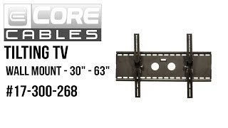 Tilting TV Wall Mount Bracket 30