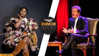 Nicki Minaj \u0026 Piers Morgan Trade Shots After Rapper's Controversial Met Gala Vaccine Comments