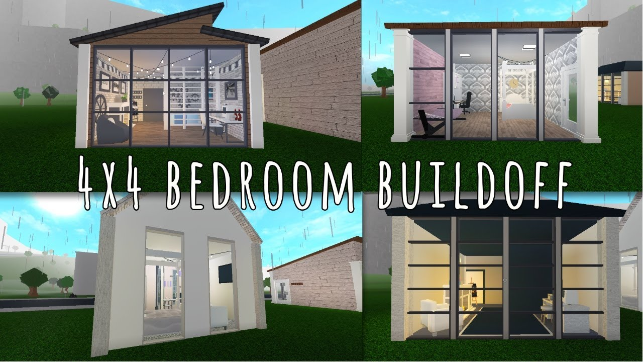 i4x4 BedRoomi Buildoff Bloxburg Babes Rielle Plays