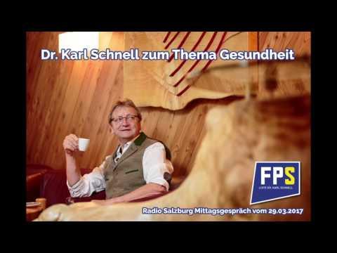 Dr. Karl schnell im Mittagsgespräch zum Thema Gesundheit und KH Mittersill