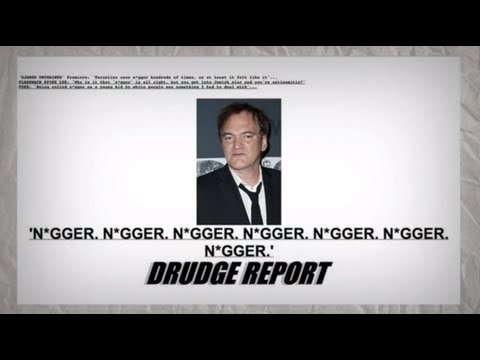'N*gger' Covers Drudge Report for Django Unchained