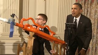 """It's a prototype!"" Tune in for President Obama's Last Science Fair, April 13th"