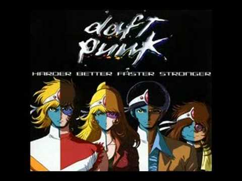 Клип Daft Punk - Harder, Better, Faster, Stronger (Album Version)