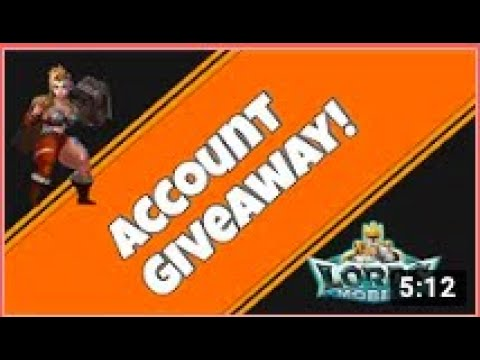 Lords Mobile - 57M MIGHT ACCOUNT GIVEAWAY