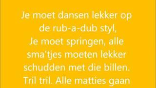 K-Liber - Dansen (Schudden met die billen) + lyrics on screen