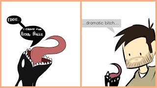Funny Venom Comics: TINY VENOM!!
