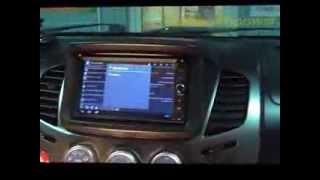 Штатное головное устройство Android 4.1 Mitsubishi L200, Pajero Sport(VK http://vk.com/redpower_su www.redpower.su На мой взгляд удачно получилось что подошел клиент и рассказал об автомобиле...., 2014-01-14T12:25:50.000Z)