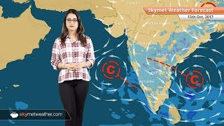 Weather Forecast for Oct 13: Rain in Bengaluru, Hyderabad, Chennai; Dry weather in Delhi