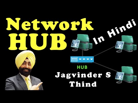 Network Hub in Hindi - Networking Devices Part 2