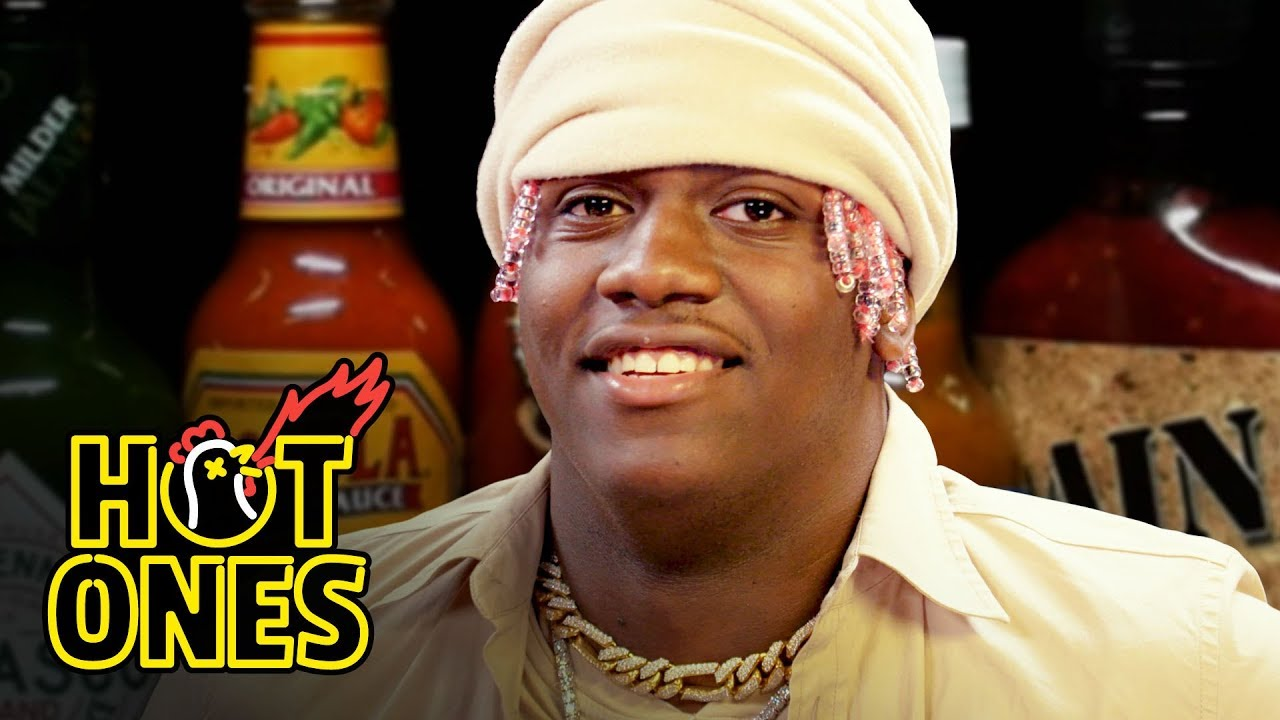 Lil Yachty Has His First Experience With Spicy Wings | Hot Ones