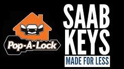 Make a Saab Key | Nashville Locksmith Pop-A-Lock Cuts Auto Keys for Saab