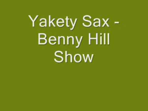 Yakety Sax - Benny Hill song played backwards/sped up